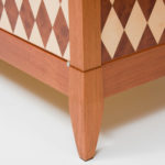 Diamond Parquetry Cabinet Detail 2