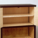 Dogwood Marquetry Cabinet Open