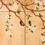 Dogwood Marquetry Flowers