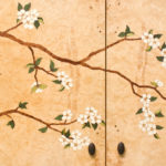 Dogwood Marquetry Flowers 2