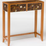 Dogwood Marquetry Table