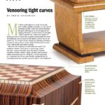 Fine Woodworking Article on veneering curved shapes