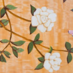 Gardenia Marquetry Sideboard Inlay Detail