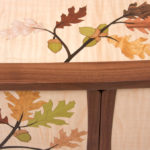 Oak Leaves and Acorns Marquetry