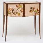 Oak Leaves and Acorns Marquetry Cabinet