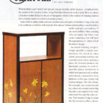 Romantic Homes Magazine Article on my marquetry furniture