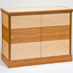 Small Parquetry Entertainment Cabinet