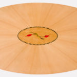 Tulip Marquetry Dining Table Top