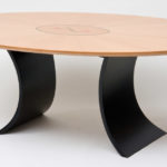 Tulip Marquetry Dining Table