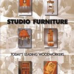 Studio Furniture Book featuring several pieces of my furniture